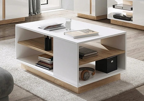 Arco Coffee Table White Gloss