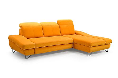 Rossa L Corner Sofa Bed