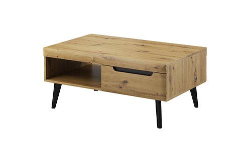Coffee table Nordi Artisian Oak