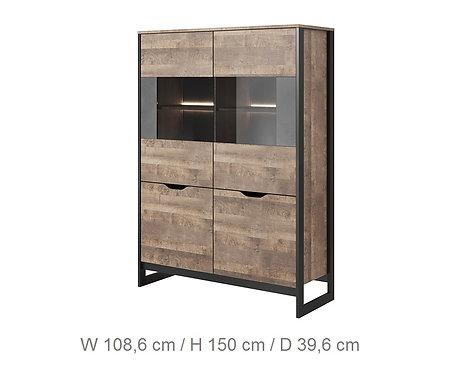 Arden Display Cabinet 108