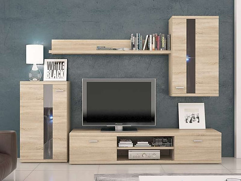 Life Living Room Furniture Set Oak