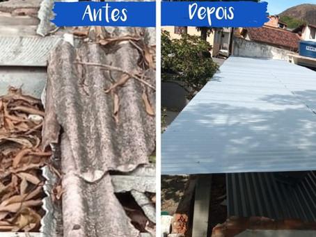 A Reforma do Telhado - Antes & Depois
