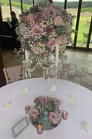 centrepiece candelabra - Simply Elegant