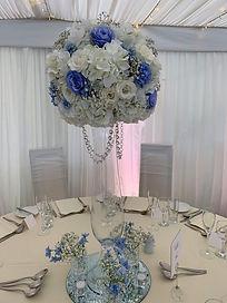 Tall centrepiece vase - Simply Elegant