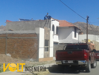 Energía Solar Fotovoltaica en casa habitación. Proyecto terminado.