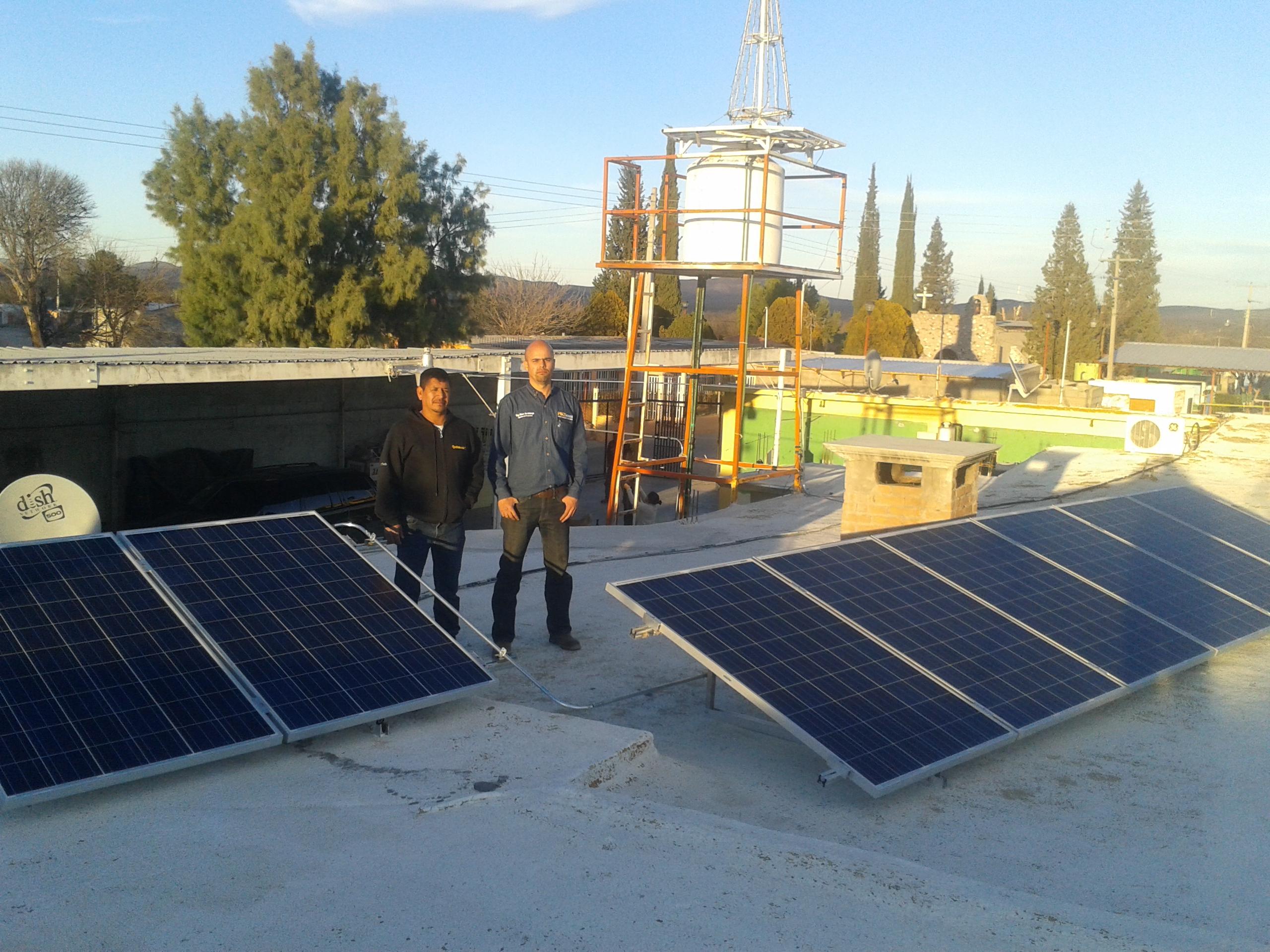 Modulos Solares en BBfrio