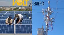 Panel Solar vs Subestacion