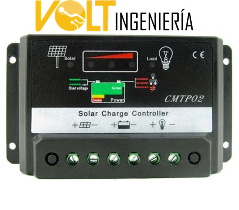 regulador de bateria solar
