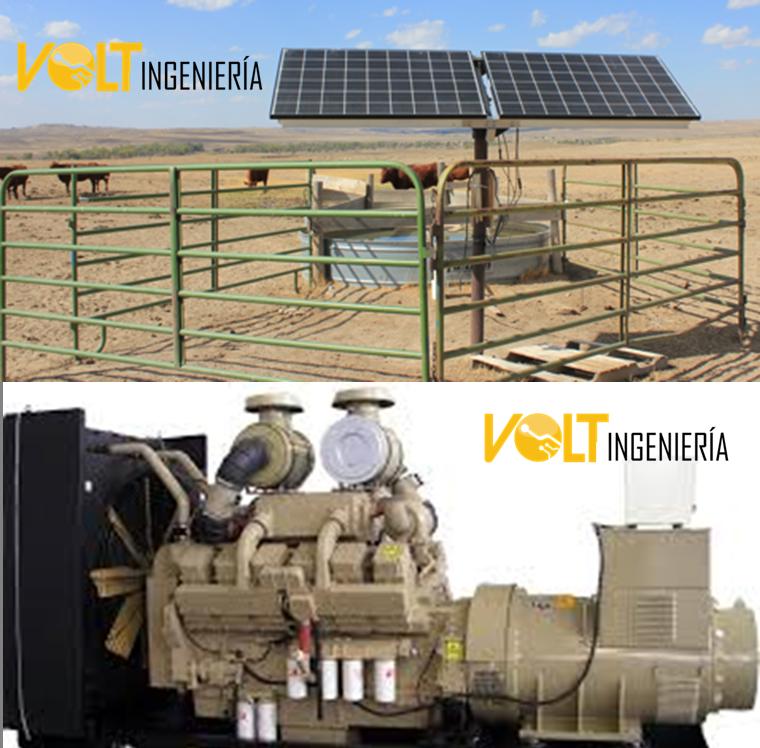 Bombeo solar vs Bombeo con combustibles