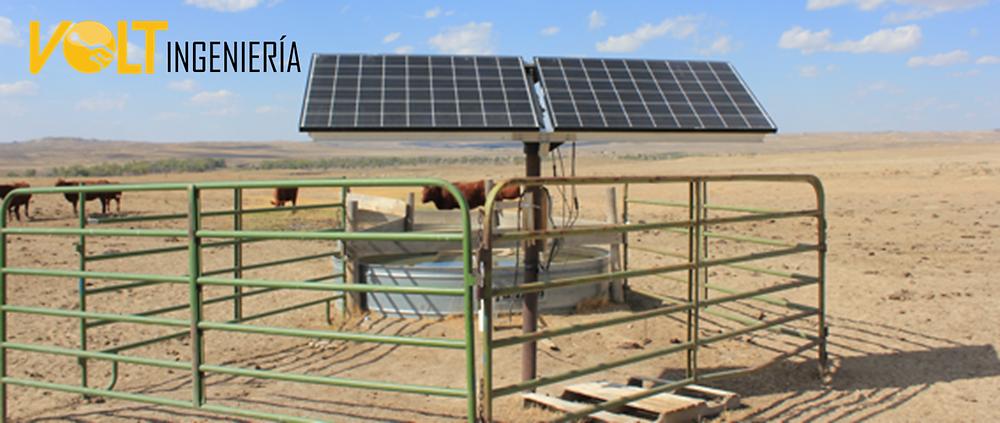 Energía solar para ranchos ganaderos