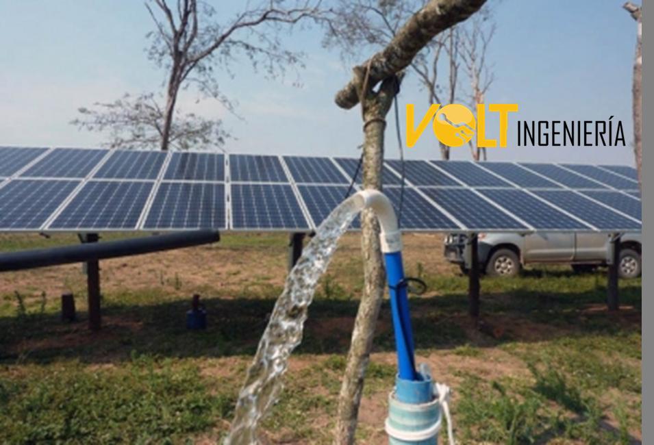 Bombeo con Energía solar