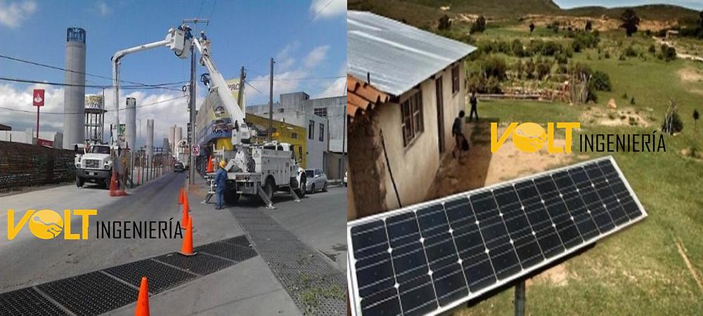 sistema aislado de paneles solares