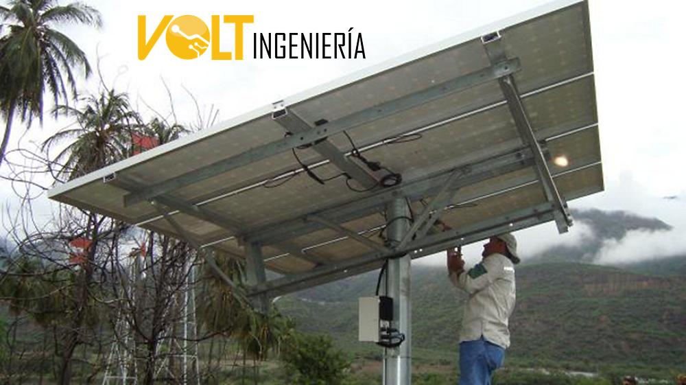 Paneles solares para bombeo de agua y riego de cultivos