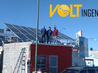 Placas Fotovoltaicas en Tienda de Abarrotes