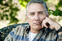 Adult man portrait