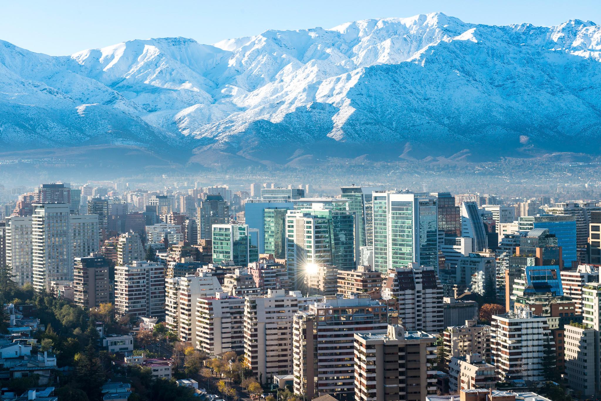 Majestuosa sobre Santiago