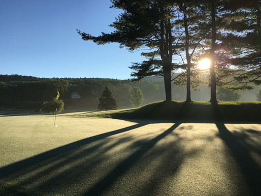 Cart Paths, Club Championship, A Completed Pergola: Week of 7/5