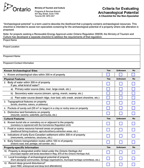 Archaeological Potential Checklist_Page_