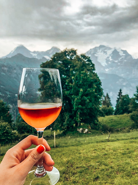 Rosé with a view