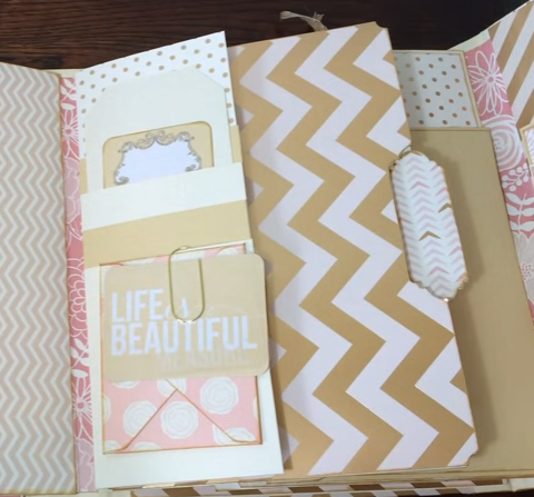Blush Glam Lapbook 1