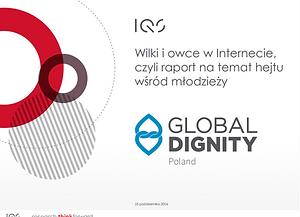 Wilki i owce w Internecie, czyli raport na temat hejtu wśród młodzieży 2016