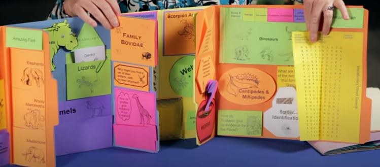 What is a Lapbook (Knowledge Box Central