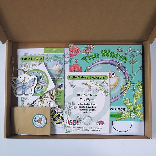 The Worm book activity pack