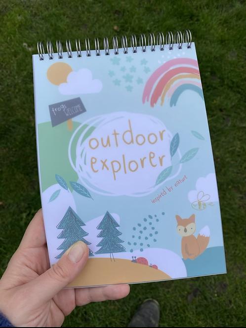 Outdoor Explorer Notebook
