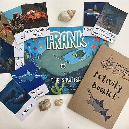 Frank the Sawfish Activity Pack