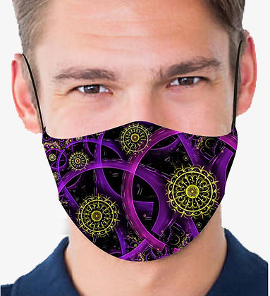 SPACE AND TIME REUSABLE & WASHABLE FACE MASKS + WASHABLE FILTER