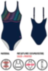 bust support plus size swimwear
