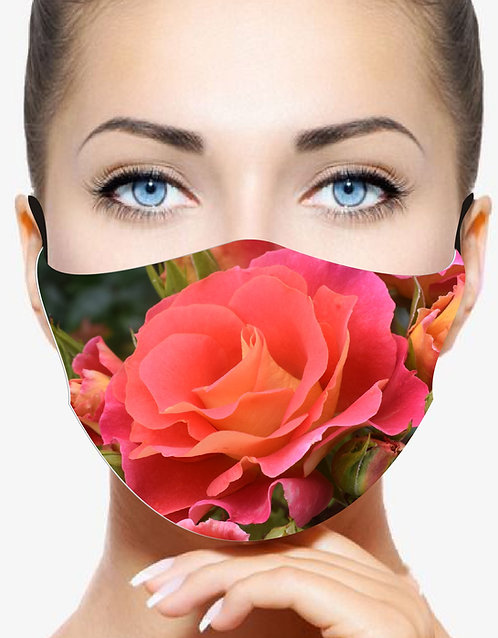 MISS KATE DESIGNER PRINT REUSABLE & WASHABLE FACE MASKS + WASHABLE FILTER