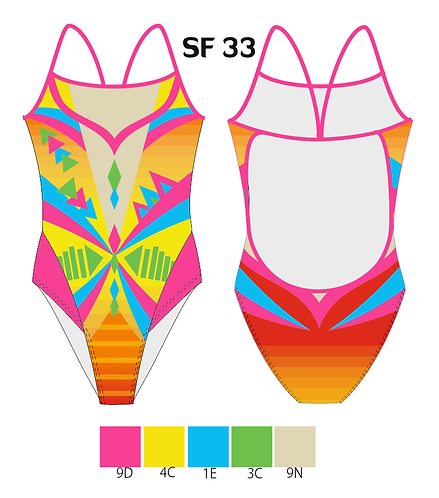BRASIL DELFINA LIGHTBACK SWIMSUIT SF33