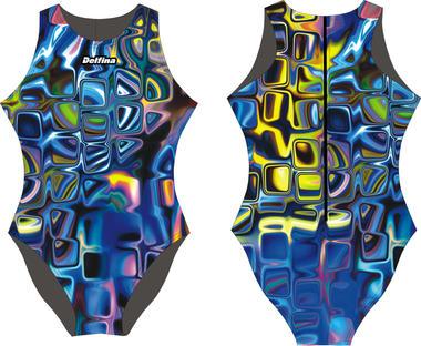 Bluee Glass Delfina Waterpolo Swimsuit