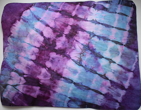 SMALL SHAMMY - A SPLASH OF PURPLE TIE DYE