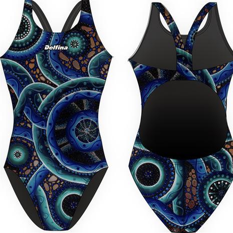 Aboriginal Delfina Bladeback Swimsuit