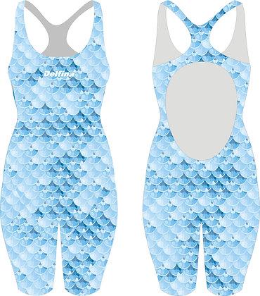 BLUE MERMAID OLYMPIC KNEESUIT