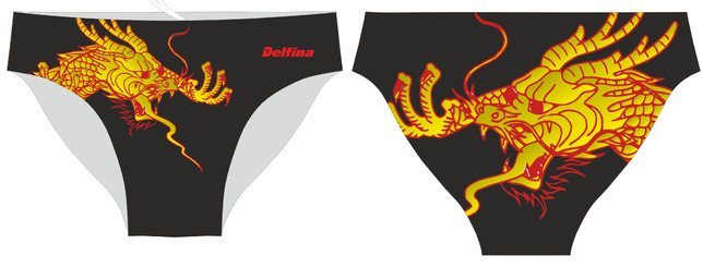 Delfina Dragon boys briefs
