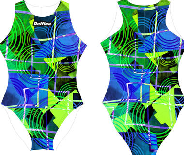 Tartan Delfina Waterpolo Swimsuit