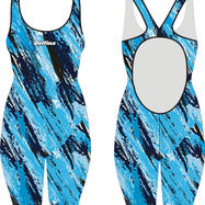 Blue Shadow Delfina Olympic Kneesuit