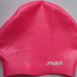 Ras Silicone Swim Cap for long hair