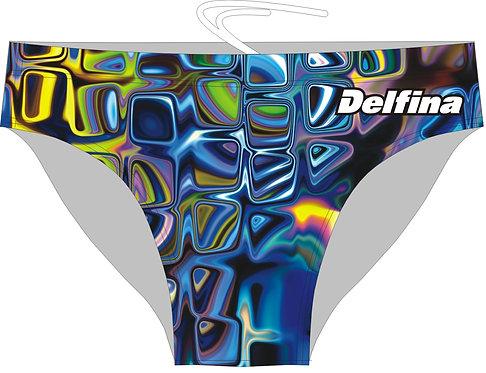 BLUE GLASS DELFINA SWIMMING BRIEFS