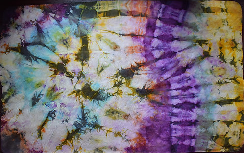 LARGE SHAMMY - BARBED WIRE PRINT IN RAINBOW DESIGN