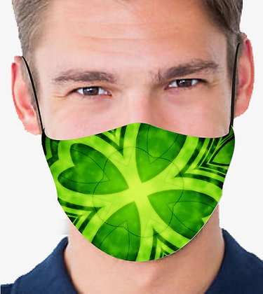 LUCKY REUSABLE & WASHABLE FACE MASKS + WASHABLE FILTER