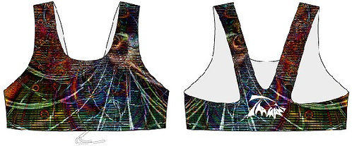 RAINBOW TOURMALINE DELFINA TANK CROP TOP