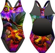 Flower Garden Delfina Bladeback Swimsuit