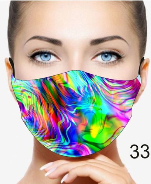 ILLUSION REUSABLE & WASHABLE FACE MASKS + WASHABLE FILTER
