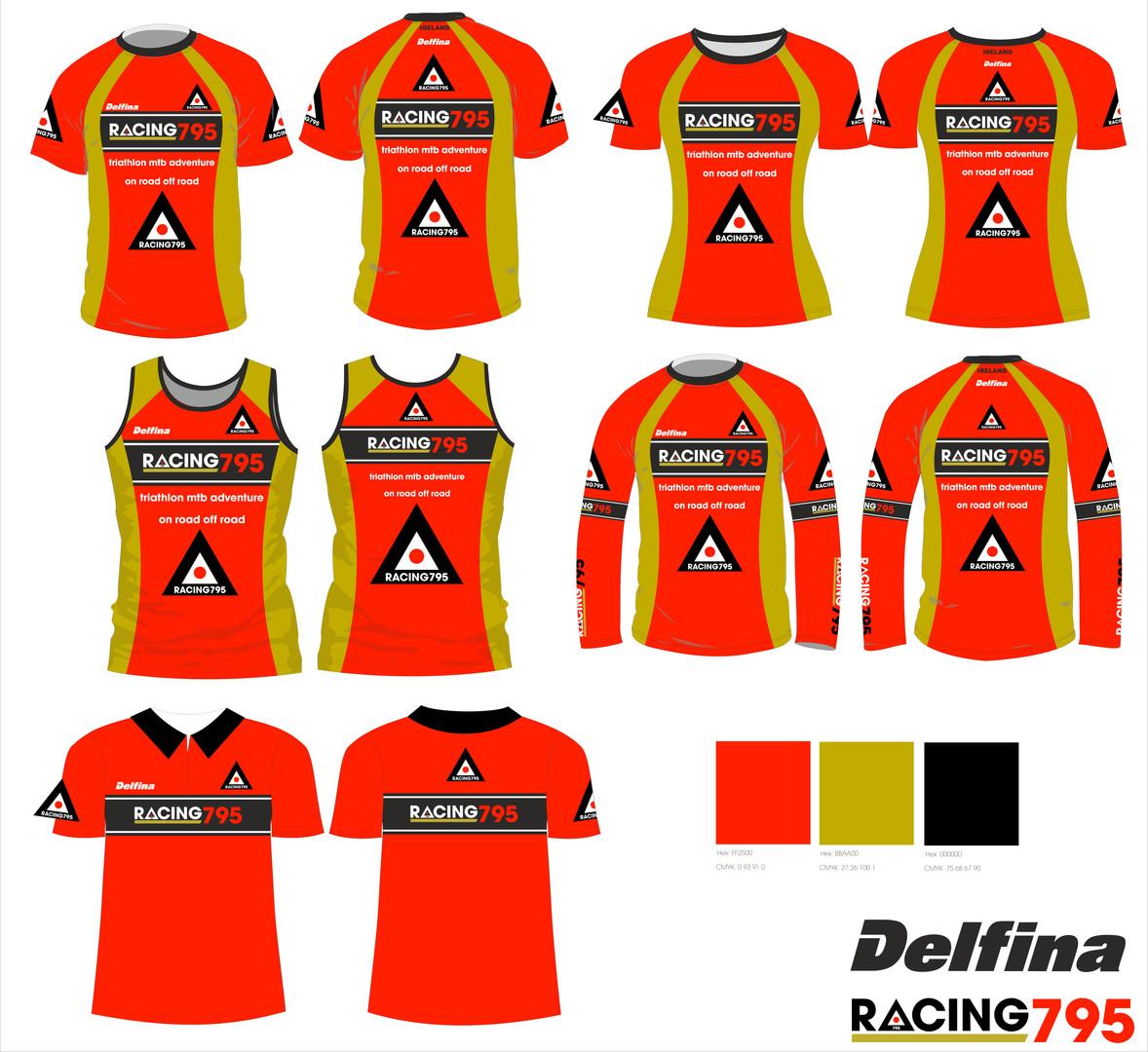Racing 795 Triathlon customised print ki