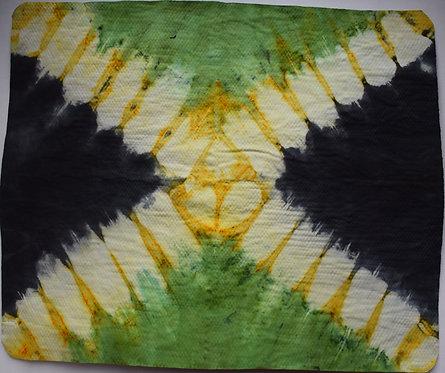 SMALL SHAMMY - JAMAICA FLAG TIE DYE PRINT