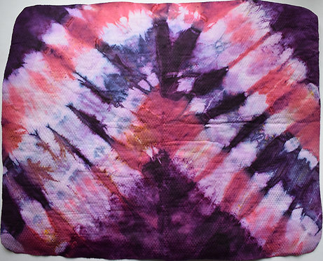 SMALL SHAMMY - PURPLE SHADOWS TIE DYE